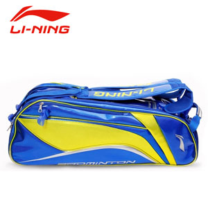Lining Badminton Bag 2014 Lining Thomas Cup Tournament 6 Racket Badminton Bag ABJJ058-1-3