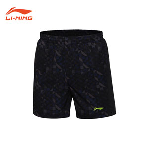 2016 Li-ning/Lining/Li Ning Badminton Shorts Men Training Sports shorts AKSL117