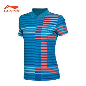 2016 Li Ning/Li-ning/Lining AAYL048 Badminton Women Quick-drying Tshirt Tournament Jerseys