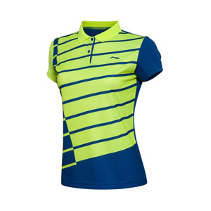 Li Ning/Li-ning/Lining AAYL056 Badminton 2016 Women quick-drying T-shirt competition Jerseys