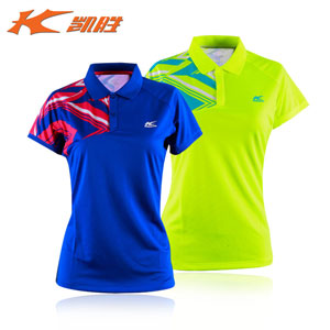 Kason Badminton Shirt 2016 Women Quick-drying Professional Badminton Jersey FAYL008