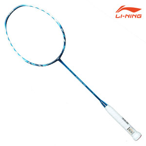 2016 New Li Ning Badminton Racket Blue TP101C Offensive and Defensive Lining/Li-Ning AYPD140-1