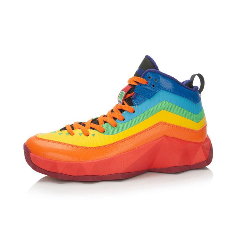 li ning li ning lining basketball shoes 2016 rainbow sports shoes