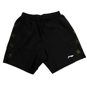Lining Table Tennis Shorts: 2014 Asian Games table tennis Men Shorts, Li Ning AAPJ315-1