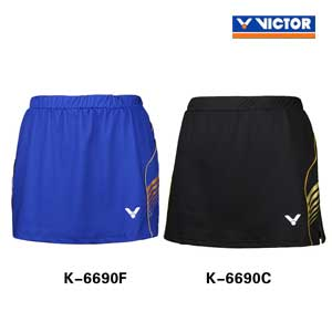 Victor Badminton Shorts Skirt 2016 Brazil Olympics South Korea Sports Skirt VICTOR K-6690 F/C