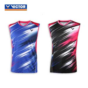 Victor Badminton Sleeveless Jersey 2016 Brazil Olympics South Korea T-shirt VICTOR T-6501