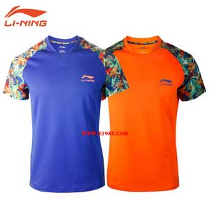 Men Table Tennis Tshirt Li-Ning China Team Ping-pong Super League Jerseys Lining AAYK341