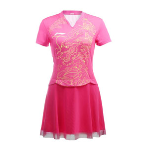 Women Table Tennis Dress 2016 Olympics CHN Table Tennis Team Competition Dres Sponsorship ASKL124-1