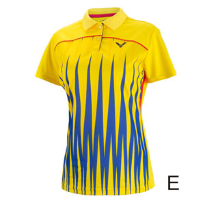 Women Badminton Jersey 2016 Victor Brazil Olympics PV Malaysia Badminton T-shirt VICTOR S-6607