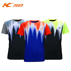 Men Badminton Tshirts 2016 Kason Men Quick-drying Professional Game Jersey Tee Kason FAYL017