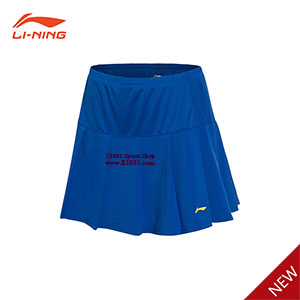 Women Badminton Short Skirt 2017 Li-Ning All England Badminton Tournament Skirt  Lining ASKM006-1-2