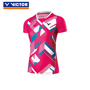 Victor Badminton Jersey 2017 Women Badminton Tournament T-shirt Victor T-71006F/M