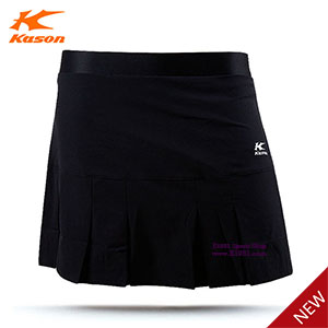 Women Badminton Short Skirt 2017 Kason Tournament Badminton Skirt Kason FSKM002