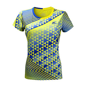 Kason Badminton Jersey 2017 Women Quick-drying Professional Badminton T-shirt Kason FAYM006