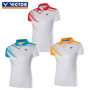 Victor Badminton Jersey 2017 Women Badminton T-shirt POLO Drying Victor S-710020 E/D/M
