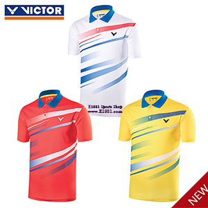 Victor Badminton T-shirt PoLO 2017 Men Badminton Jersey Quick Drying Victor S-70034 E/A/O