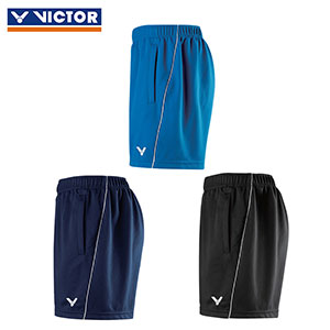 VICTOR Badminton Shorts 2017 VICTOR Men Knitted Sports Badminton Pants R-70207 C/F/B