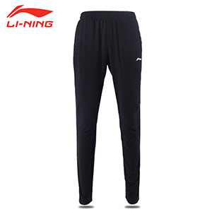 Men Badminton Trousers 2017 Li-ning Breathable Badminton Sports Trousers Li-ning AKLL631