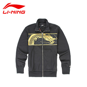 Men Casual Jackets Li Ning Cardigan Sports Jacket Li-ning Long