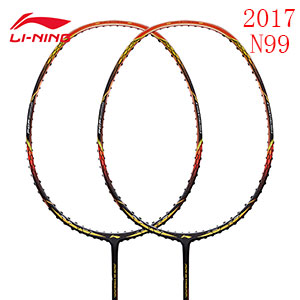Li-ning Badminton Racket New 2017 Air Stream N99 Signature Version Badminton Racket Li-ning AYPM032 AYPM034