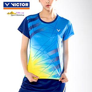81db9638f161e0 Victor Badminton T-shirt  2017 World Championships Malaysia TD Women Badminton  Jersey