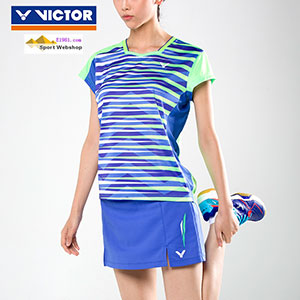 Victor Badminton T-shirt: 2017 World Championships South Korean Women Badminton Jersey,Victor T-76000 O/G