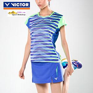 c6302bf7a6bc37 Victor Badminton T-shirt  2017 World Championships South Korean Women Badminton  Jersey