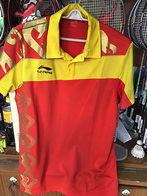 Li-Ning PingPong Jersey Men Table Tennis T-shirts Lining AAYE245-1