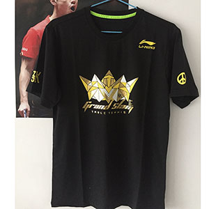 Li-ning Pingpong Jersey  Zhang J K National Team Table Tennis T-shirts Lining CP