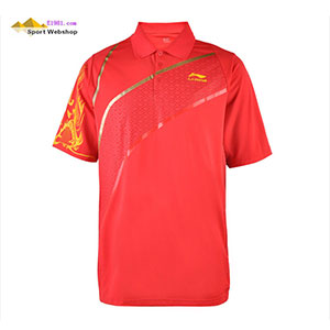 Lining Pingpong Jersey Man Table Tennis Tournament T-shirt Lining Limited edition sponsorship