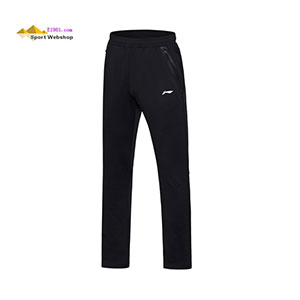 Men Badminton Trousers 2017 Li-ning Badminton Sports Trousers Li-ning AKLM705-3