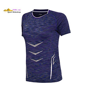 Li-Ning Badminton T-shirt: 2017 China Open Women Tournament Badminton Jersey,Lining AAYM126