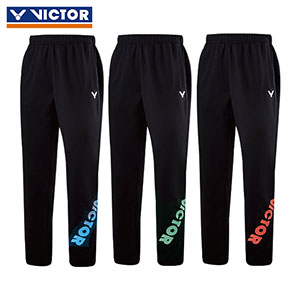 Victor Badminton Pants 2017 Thick Badminton Knitted Trousers Victor P-75806 O/M/G