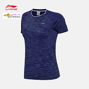 Li-Ning Badminton T-shirt: 2017 China Open Women Lady Badminton Jersey TD,Lining AAYM124
