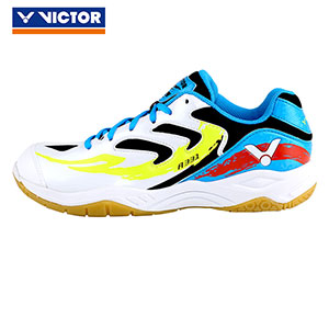 2017 Authentic VICTOR Badminton Shoes: Men Women Hhigh Elastic Dhock Absorber Badminton Shoes A331