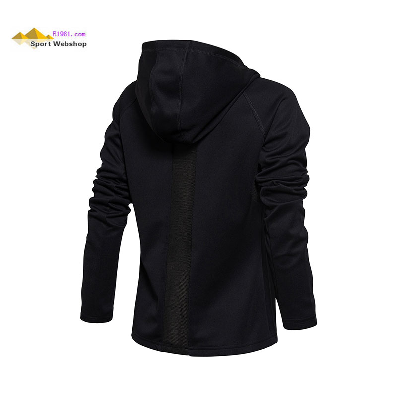 Li Ning Badminton Sweater 2017 Badminton Sponsorship Field Side Woman Cardigan Hooded Sweater Li-Ning AWDM668-1-2