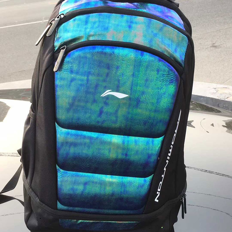 Li-Ning Badminton Bag 2017 Shoulder Light Beetle Travel Computer Lining ABJM076