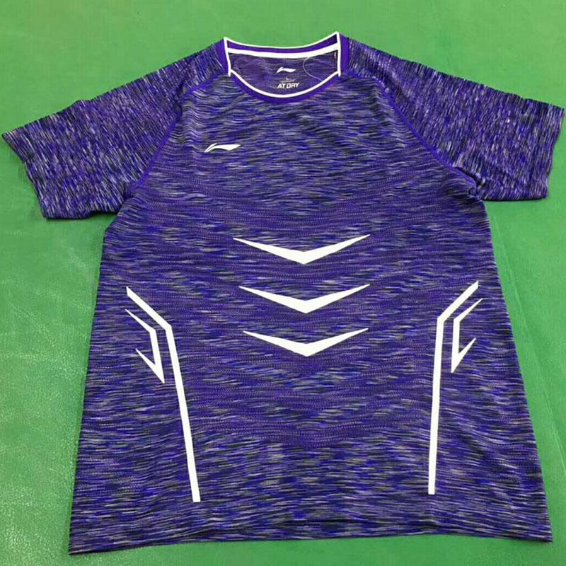 Li-Ning Badminton T-shirt: 2017 China Open Men Tournament Badminton Jersey,Lining AAYM141