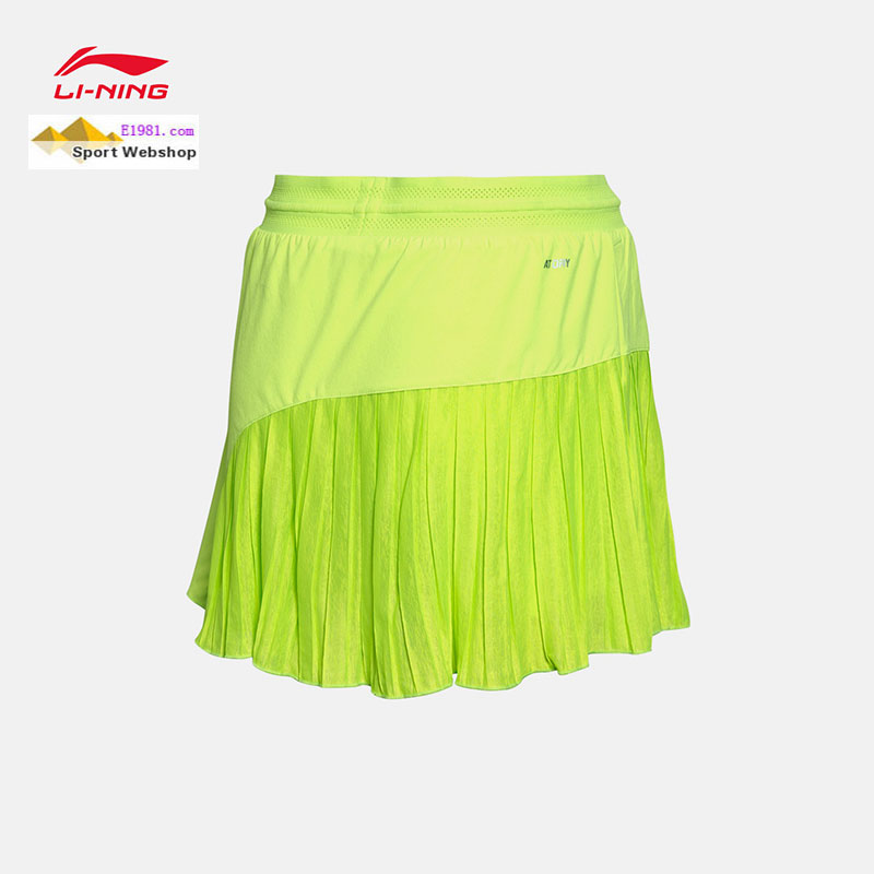 Women Badminton Short Skirt 2017 Li-Ning BWF Uber Cup Badminton Tournament Skirt Lining ASKM054-1-2