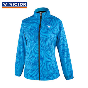 Victor Badminton Jacket 2017 Women Woven Sport Trench Coat Double-layer Fabric Victor J-76612 D/M/H