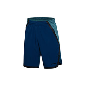 Lining Basketball Shorts: 2017 Men Basketball Tournament Shorts Li-ning AAPM045-1-2