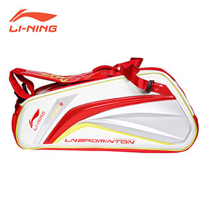 Li ning Badminton Bag Lining London Olympics 6 Racket Badminton Tournament Bag APBG036
