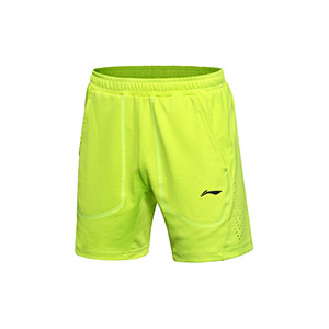 Men Badminton Shorts 2017 Li-Ning Sudirman Cup Badminton Tournament Shorts Lining AAPM003-3-4