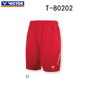 Victor Badminton Shorts 2018 Denmark Men Badminton Tournament Shorts Victor R-80202 D