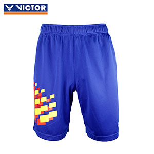 Victor Badminton Shorts 2018 Malaysia Men Badminton Tournament Shorts Victor R-80201F
