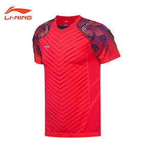 Men Badminton  Jersey: 2018 Li-Ning All England Badminton Tournament  T-shirt,Li-Ning AAYN001