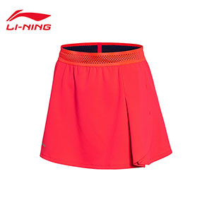 Women Badminton Short Skirts: 2018 Li-Ning All England Badminton Tournament Skirts,Li-Ning ASKN016