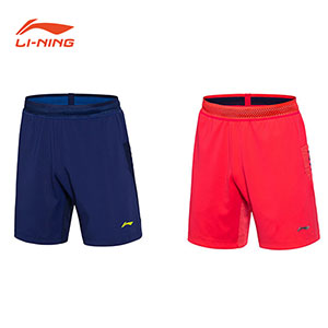 Men Badminton Shorts: 2018 Li-Ning All England Badminton Tournament Shorts,Li-Ning AAPN029