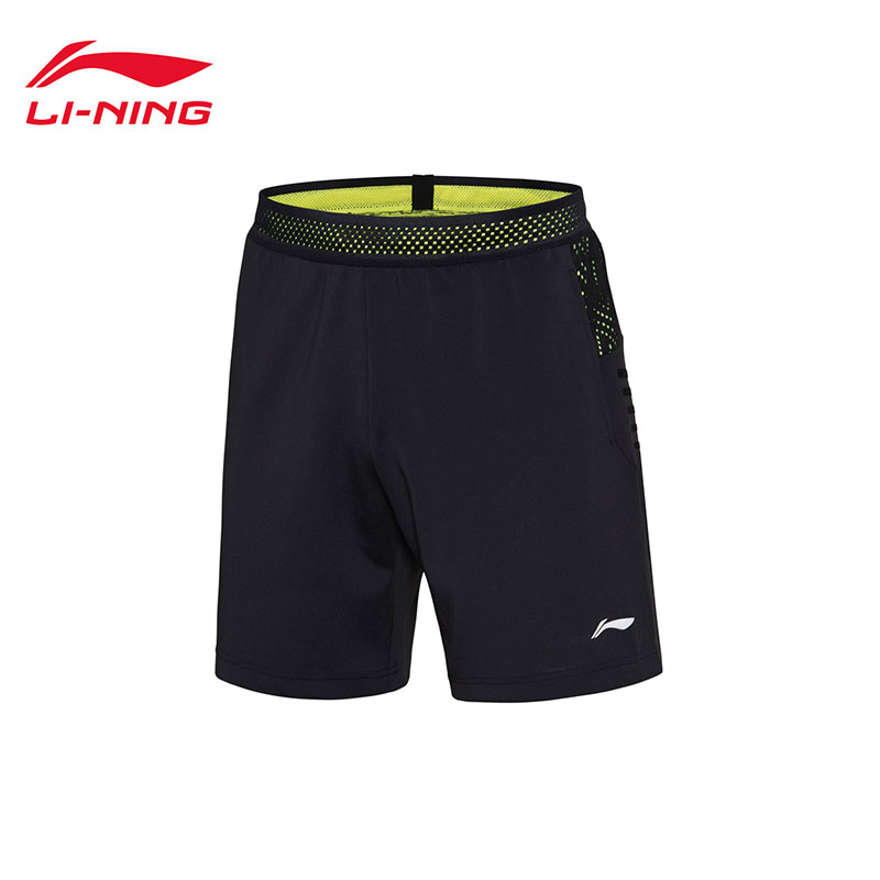 Men Badminton Shorts: 2018 Thomas-Uber Cup Li-Ning Badminton Tournament Shorts,Li-Ning AAPN155