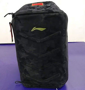 Li Ning Table Tennis Backpack 2018 Pingpong National Team Sponsorship CP Bag Lining ABJN142